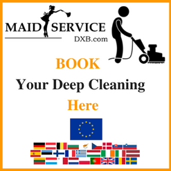 Deep Cleaning Dubai EU Standard