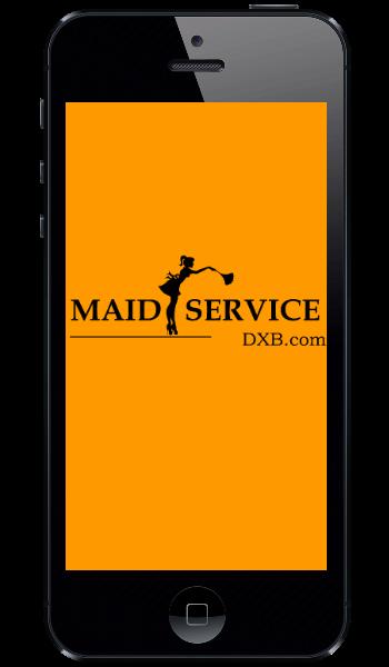 Maid Service Dubai Mobile App